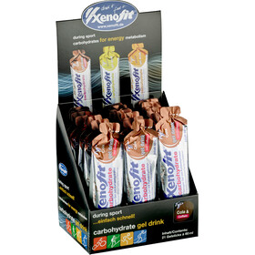 Xenofit Carbohydrate Hydro Gel Box Cola mit Koffein 21 x 60ml